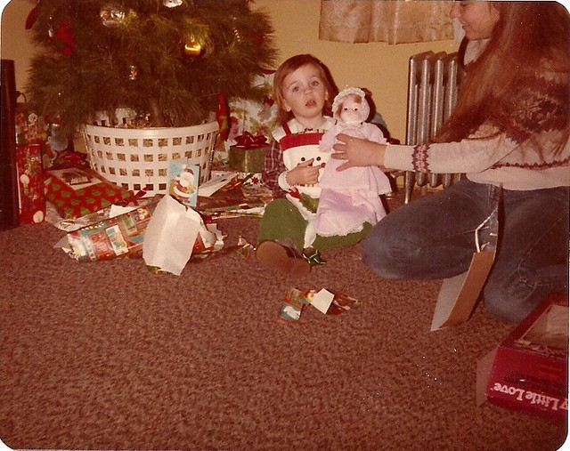 I wasn't taking her present, really!
