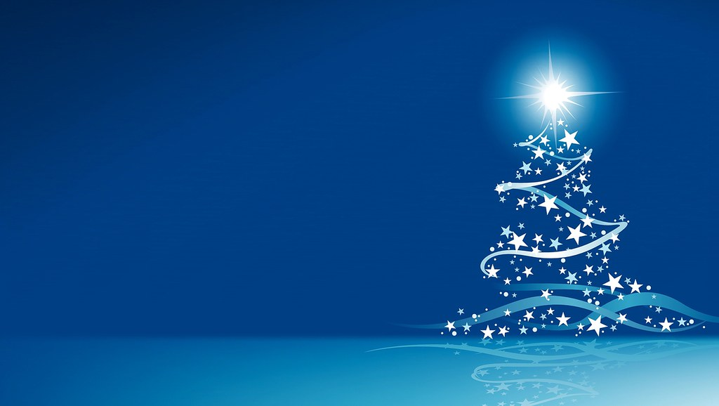 A Blue Christmas Wallpaper Christmas Screensavers And Ch Flickr