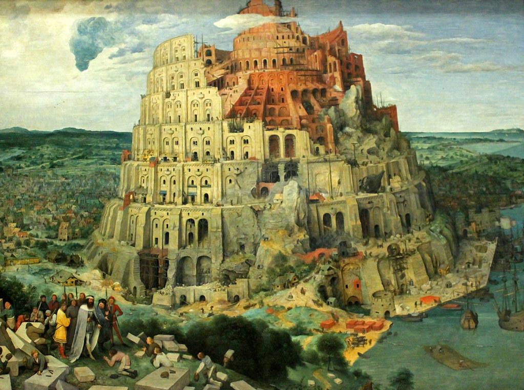 Bruegel the Elder, Tower of Babel