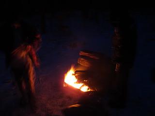 Night Fire   by Treetop Mom