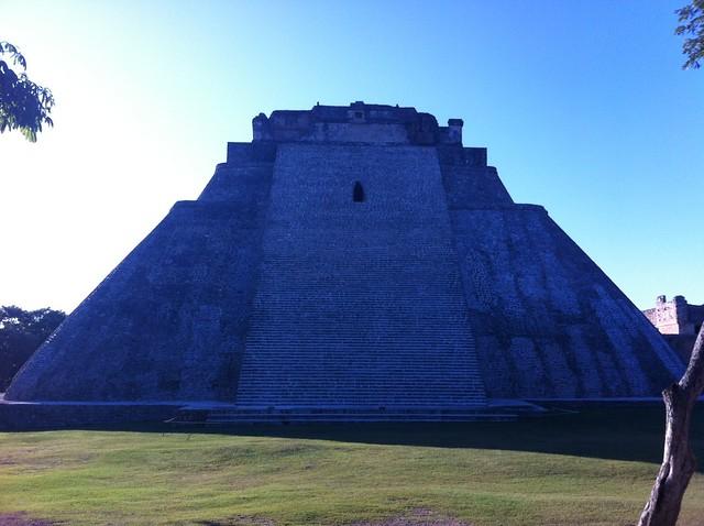 Pirámide de Uxmal