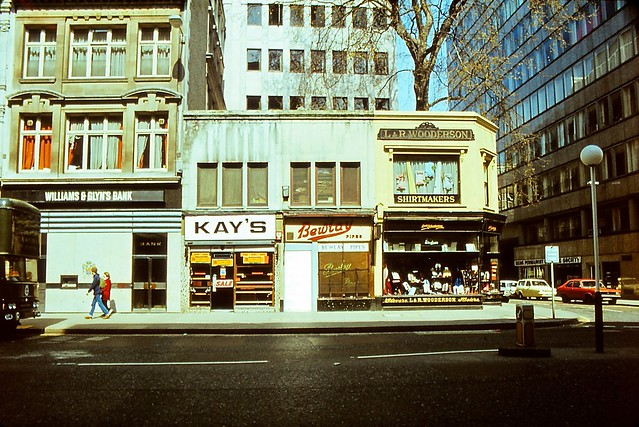 London, Cheapside 1982