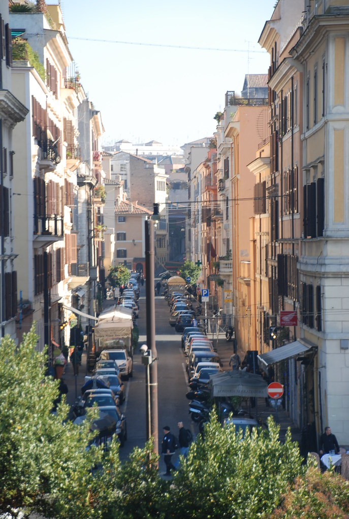 Neighborhood east of The Colosseum in Rome, Italy | Taken ...