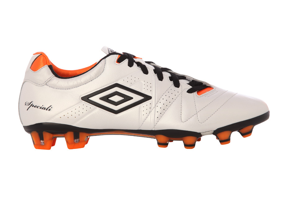 best website the best a few days away Umbro Speciali 3 Pro HG White and Orange Football Boots | Flickr