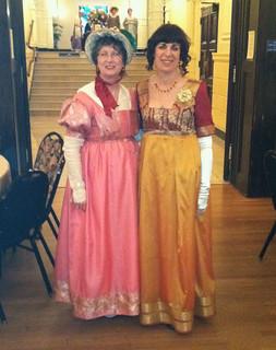 Diane & Friend Jane Austen Evening 2012