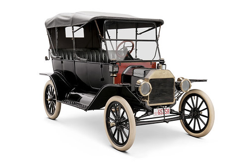 1914 Ford Model T Touring Car, Given to John Burroughs by Henry Ford