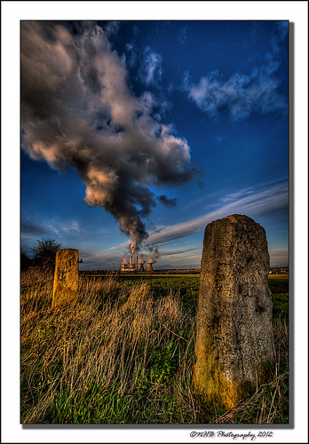 uk england sky nature clouds yorkshire steam powerstation pontefract ferrybridge canon40d worldhdr ringexcellence dblringexcellence nhbphotography