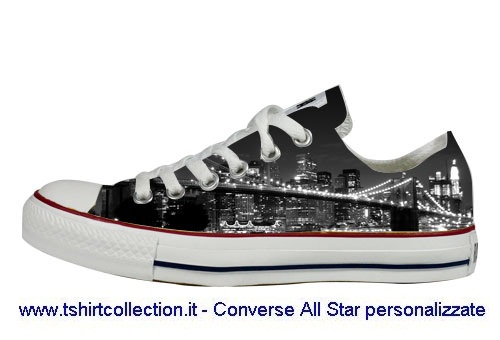 low priced 11602 9369c Scarpe Personalizzate slim Brooklyn Converse All Star | Flickr