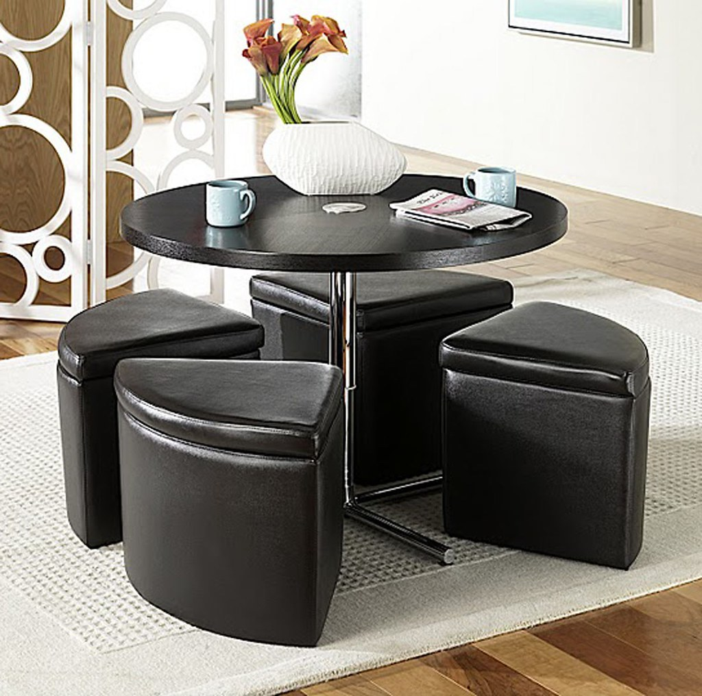 Incredible Sitcom Furniture Sedona Round Coffee Table W Ottomans Flickr Short Links Chair Design For Home Short Linksinfo