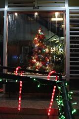 Decoración navideña Restaurant La Casa