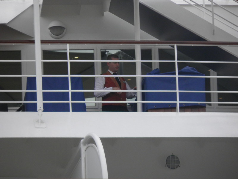 Ouvriers au travail - Seven Seas Voyager - Bordeaux - P8220115