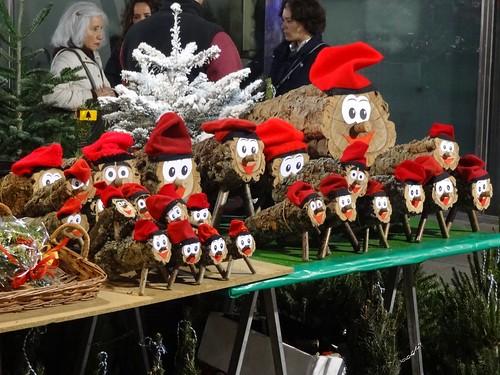 Christmas Caga Tio or Shitting Logs. Fair de Santa Lucia, Barcelona | by sirexkat