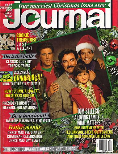 "Ladies Home Journal :: ""The TEENAGE MUTANT NINJA TURTLES in 'Twas the FIGHT before Christmas' // Cover (( December 1990 )) by tOkKa"