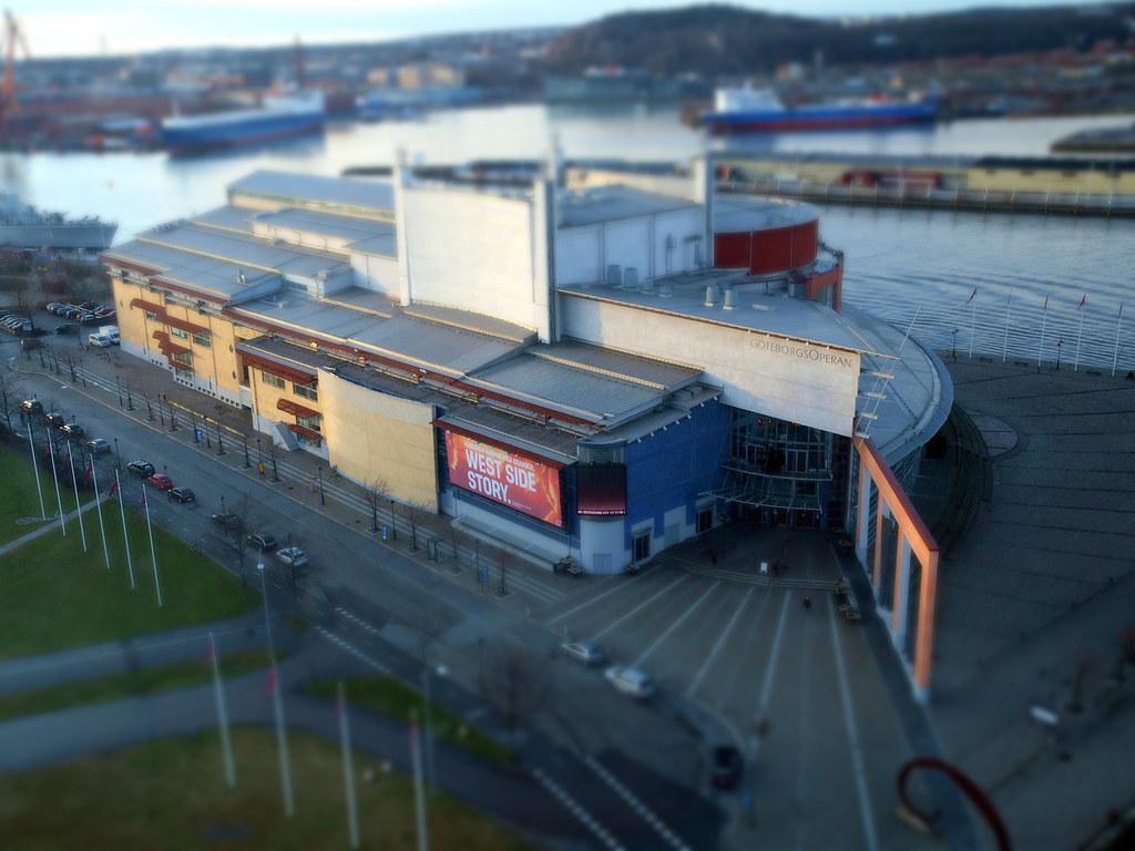 bfcd3c160612 The Göteborg Opera | The Göteborg Opera in Tilt Shift | joakimanka ...