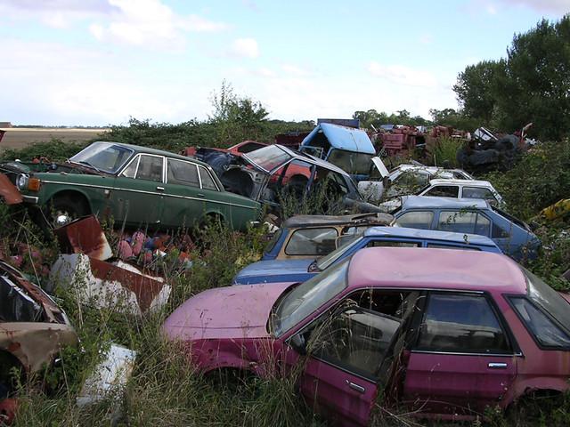 Gedney scrapyard miscellany #1 (2003)