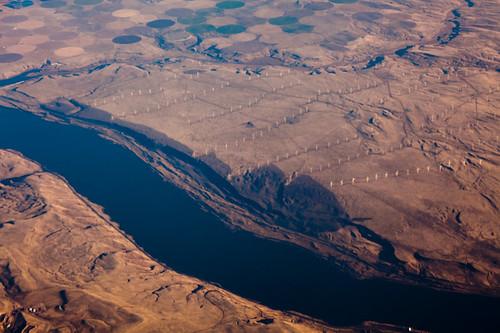 usa oregon river washington view columbia aerial peaceonearthorg