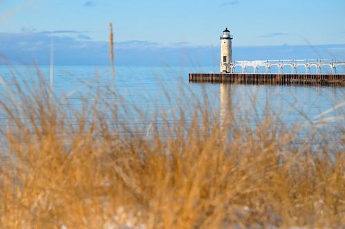 lighthouse lake water nikon lighthouses michigan lakemichigan manistee lakemichiganlighthouse d7000 llmsmimanistee lightmichiganlighthouses