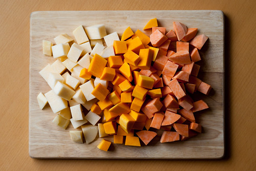 Swede, squash and sweet potato | by Buntworthy