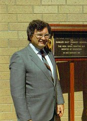 Hon Greg Crafter, opening of Gawler East PS, 1986