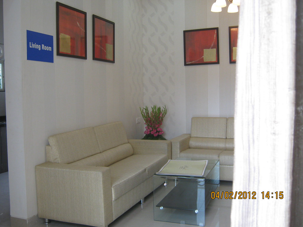 Living From Terrace Sample Flat Of Miami 1 Bhk 2 Bhk Flickr