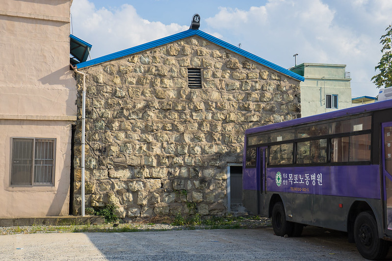 Colonial stone building, Mokpo, South Korea