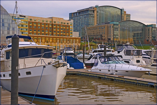 National Harbor (MD) at Sunset -- November 26, 2011 | by Ron Cogswell