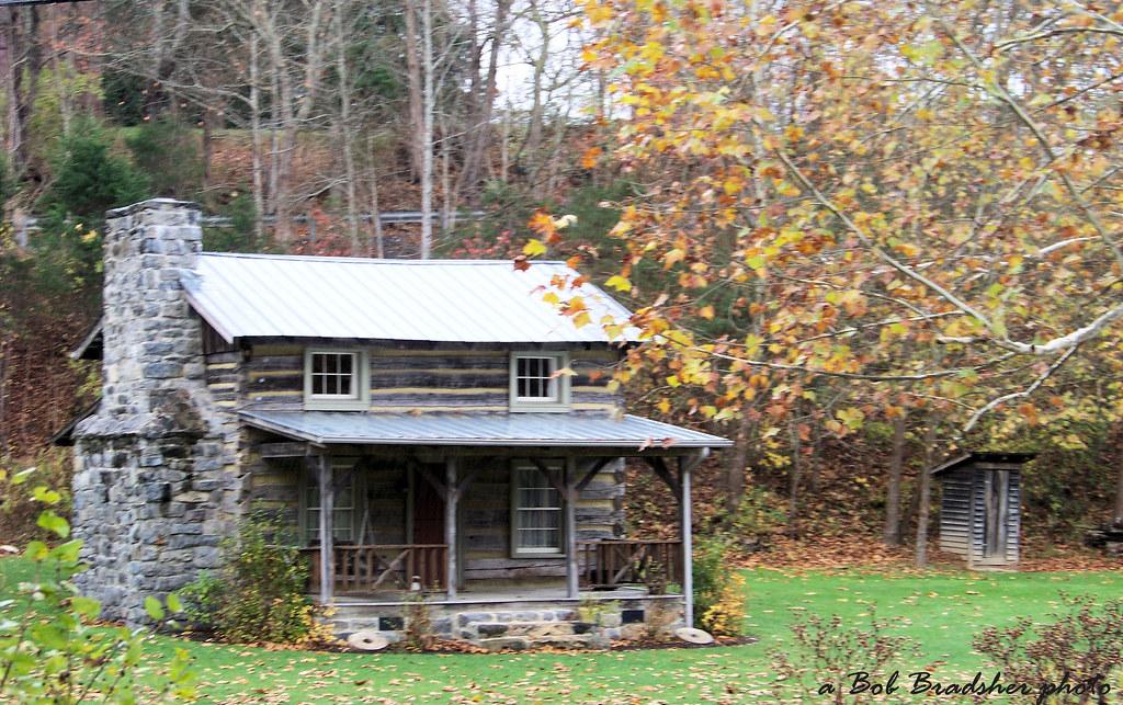 Old Cabin In West Virginia Bob Brad Flickr