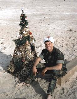 David Gurfein, Christmas, Saudi Arabia, 1990