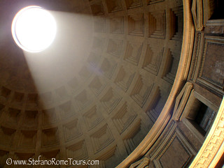 Pantheon -  Dome at Summer Solstice | by StefanoRomeTours