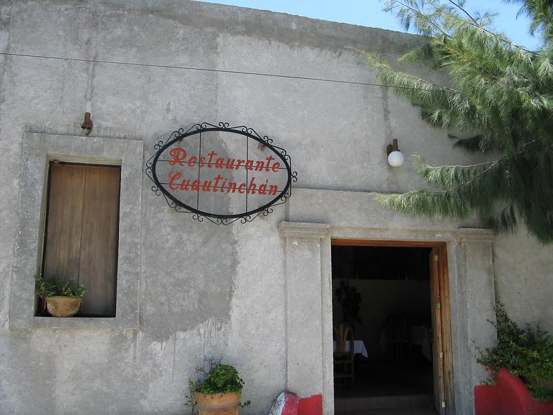 Restaurante Cuauhtinchan