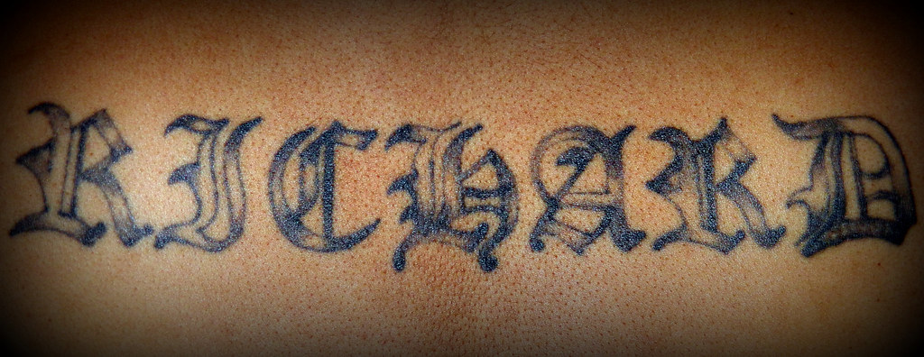 Tattoo Richard My Brothers Tattoos Throughmyeyesjkm