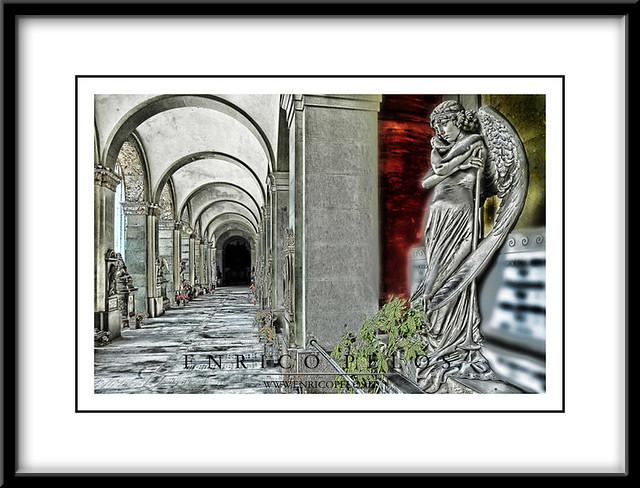 STAGLIENO Cimitero Monumentale di Genova (Italia) -  Monumental Cemetery of STAGLIENO of Genoa (Italy)