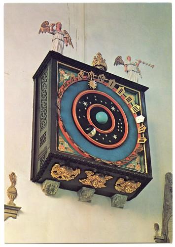 Astronomical Clock Wimborne Minster Dorset This Famous