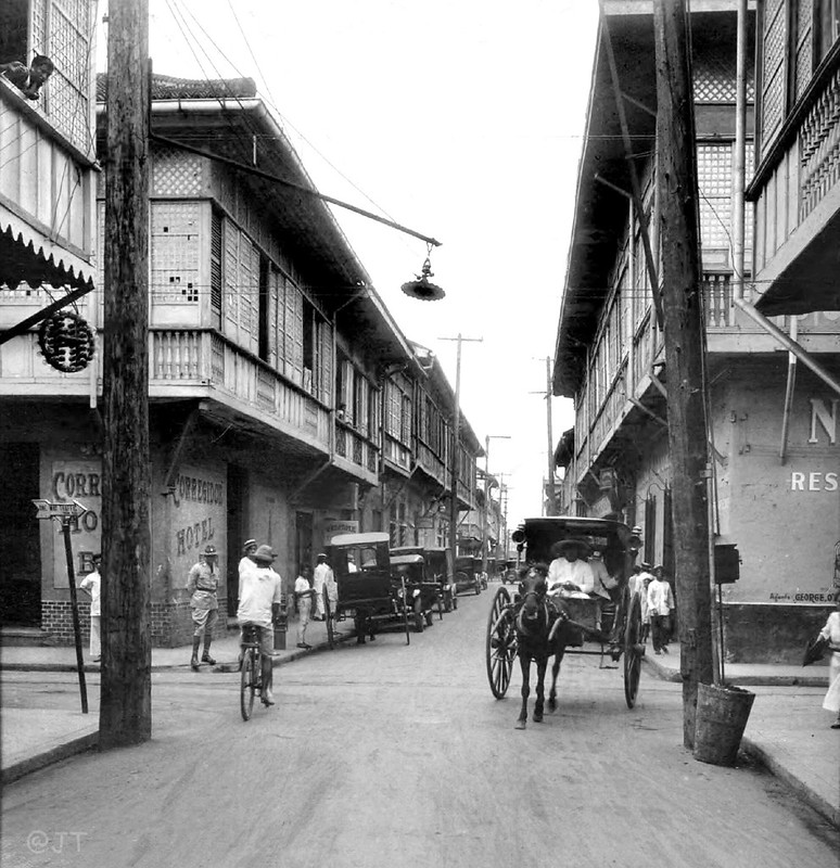 Real Street, Intramuros, Manila, Philippines, 1927