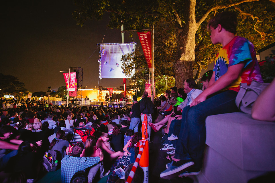 As The World Tipped, Sydney Festival 2012