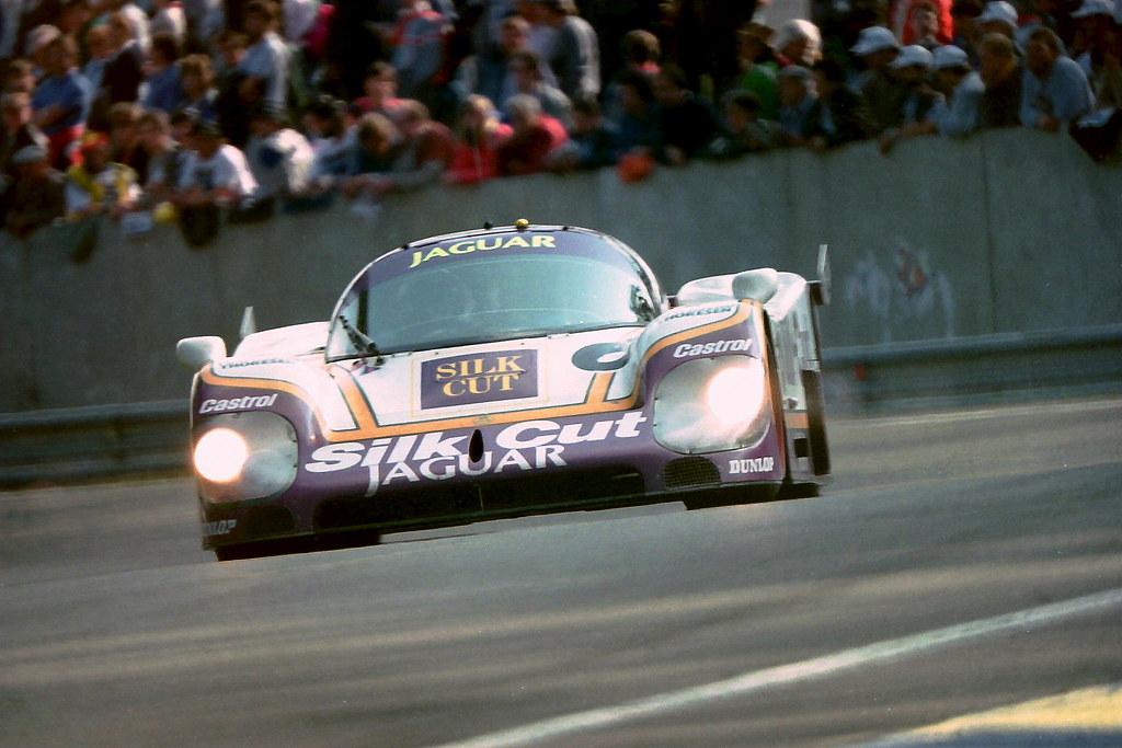 Jaguar XJR-8 - Martin Brundle, John Nielsen & Armin Hahne ...