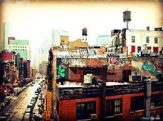 Downtown New York City