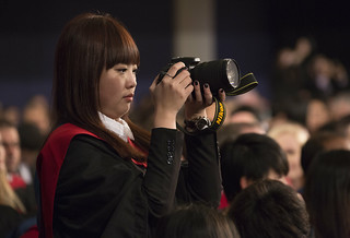 Student taking a photograph 2