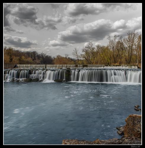waterfall nikon missouri joplin d800 shoalcreek grandfalls ©copyright