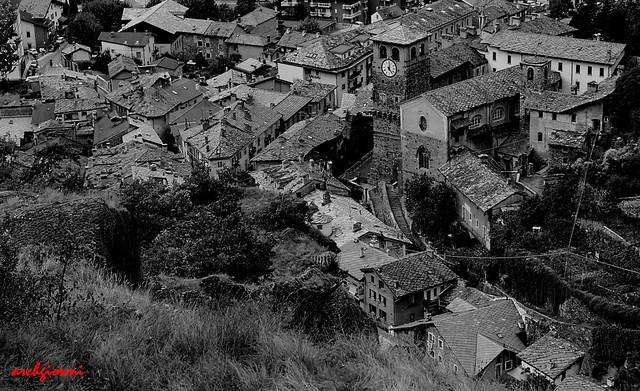 centro storico di verrès