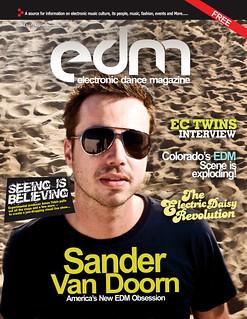 Cover EDM Oct 2011   by Sara Cooper PR