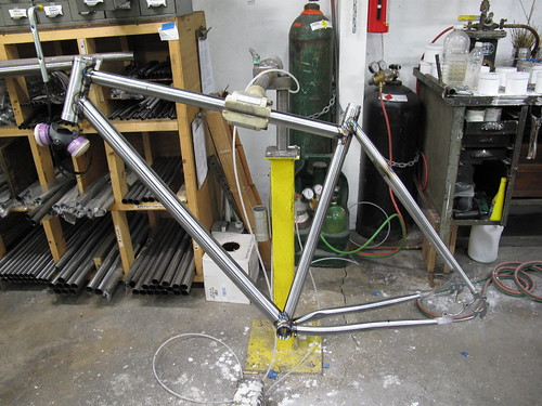 Time for brazing.