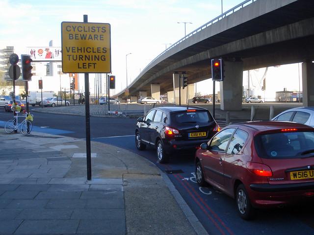 Cyclists Beware