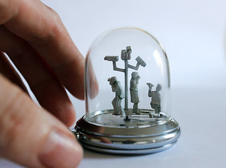 Captured watch sculpture | by Dominic Wilcox