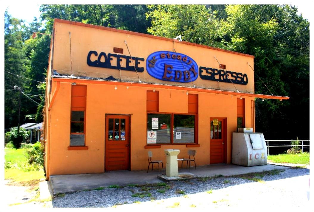 roadside coffee shop