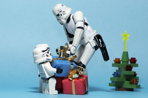 A christmas delivery from Santa on the Death Star | by Kalexanderson