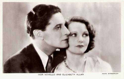 Ivor Novello and Elizabeth Allan in The Lodger (1932)