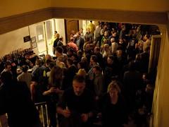 土, 2010-10-23 21:46 - The Richard Thompson Band at Town Hall (123 W 43rd St) 休憩時間