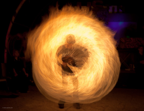 usa girl hoop austin fire dancing tx performance spinning twirling