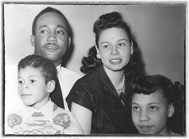 James and Roberta Williams of Mattoon, Illinois - 1950